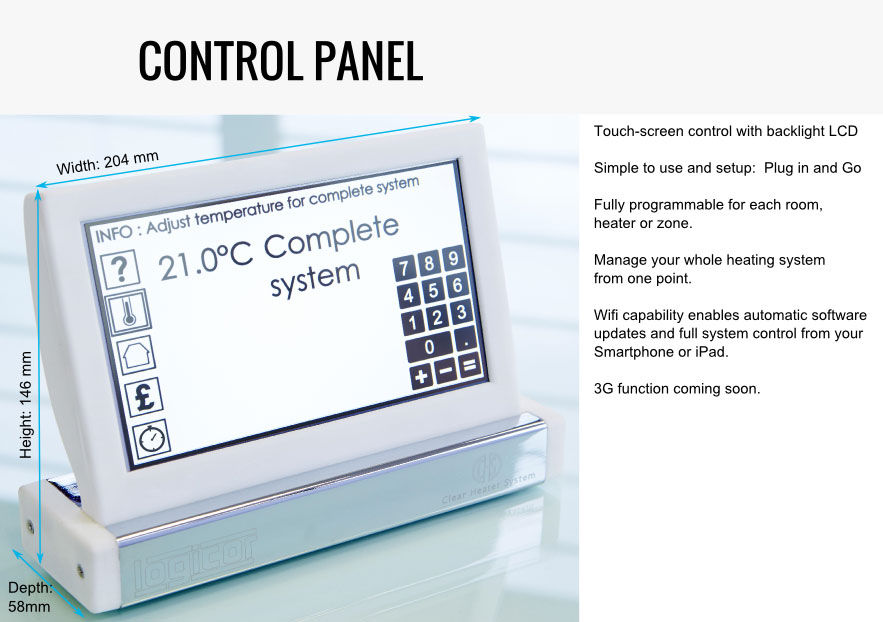 Clear Heater System - Control Panel